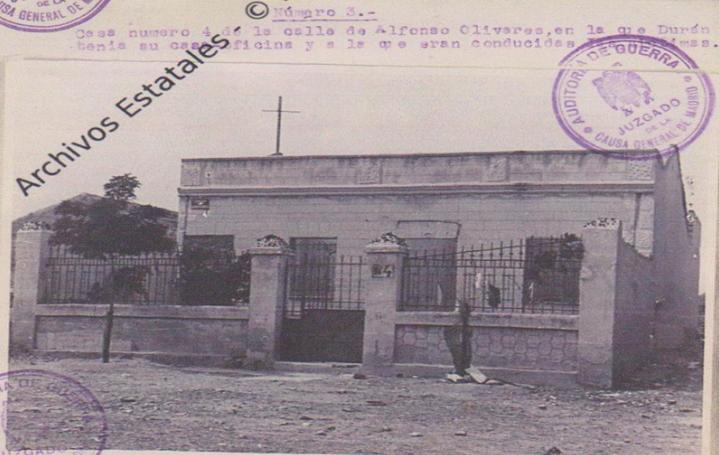 CHALET DE USERA DONDE SE COMETIAN LOS ASESINATOS