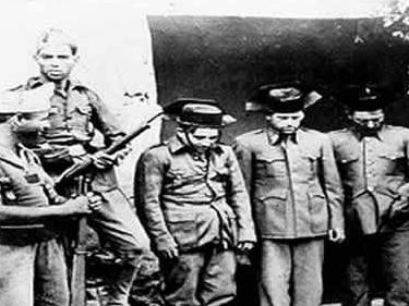 Varios guardias civiles detenidos durante la guerra