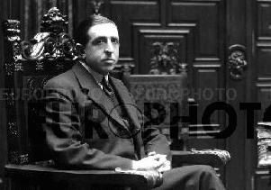 El Duque de Veragua en 1934