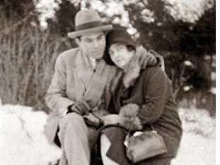 Durruti y su esposa antes de la Guerra Civil