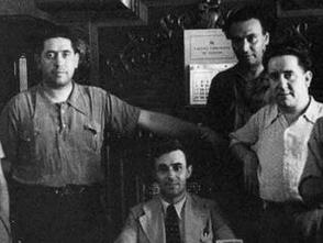 Cúpula del Partido Comunista antes de la Guerra Civil