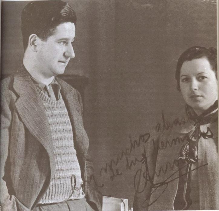 Jose Cazorla y esposa