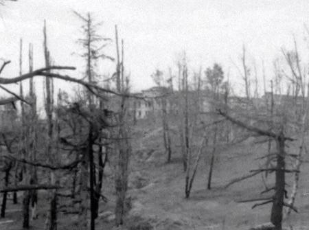 Parque del Oeste durante la Guerra Civil