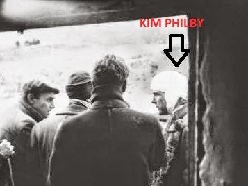 Kim Phliby herido en el frente de Teruel durante la Guerra Civil