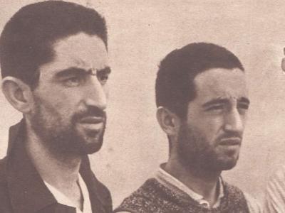Tres guardias civiles desertores del Alcázar de Toledo