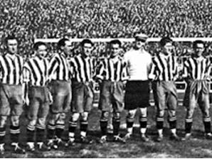 La plantilla del Atlético de Madrid antes de la Guerra Civil
