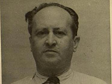 Baltasar Fernández Cué detenido tras la Guerra Civil