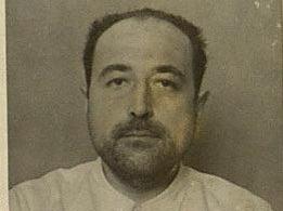 Fernando Valentí tras ser capturado por las tropas de Franco