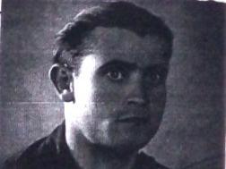 Miguel Pereda Pelayo con el uniforme de aviador
