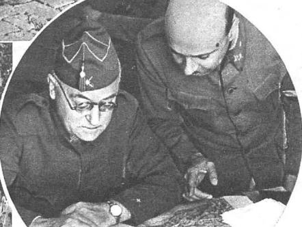 Miaja y uno de sus ayudantes en 1936