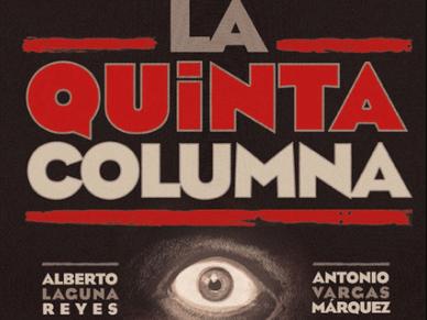 PORTADA DEL LIBRO LA QUINTA COLUMNA DE LA GUERRA CIVIL