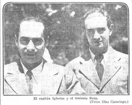 PRENSA CAPITAN IGLESIAS Y REUS. HERALDO MADRID