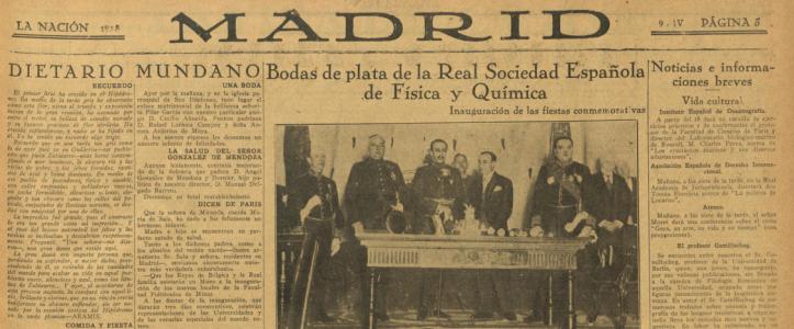 PERIODICO LA NACION 1928