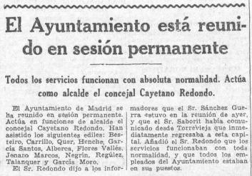 LA VOZ. 1963. 8 NOV. SUSTITUTO PEDRO RICO