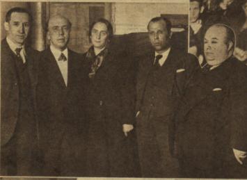 PEDRO RICO ACTO CINE MONUMENTAL 1936 OCTUBRE