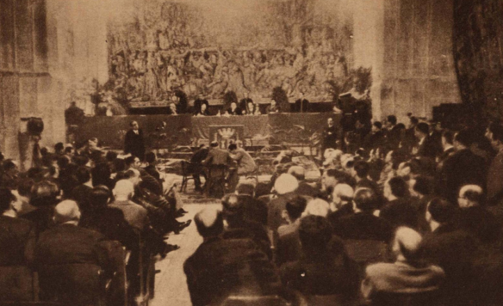 REUNION CORTES SANT CUGAT 1938